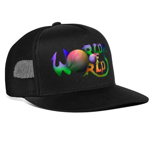World of Worlds Title - Gorra de camionero