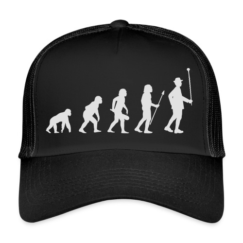Evolution Stabführer weiß - Trucker Cap