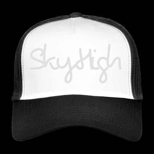 SkyHigh - Bella Women's Sweater - Light Gray - Trucker Cap
