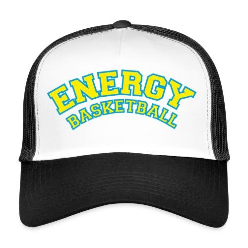 street wear logo giallo energy basketball - Trucker Cap