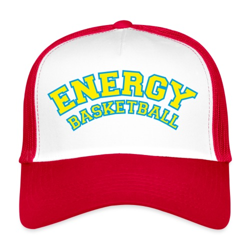 street wear logo giallo energy basketball - Trucker Cap