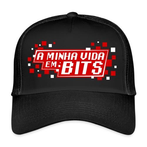 AMinhaVidaemBits Logo - Trucker Cap