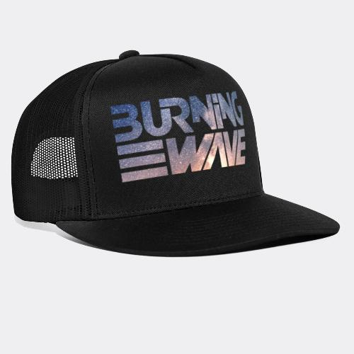 Burning Wave - Shock Wave - Trucker Cap