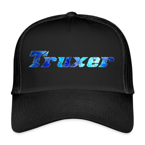 Truxer Name with Sick Blue - Trucker Cap