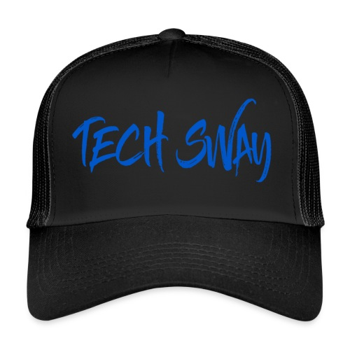 Tech Sway Blue - Trucker Cap