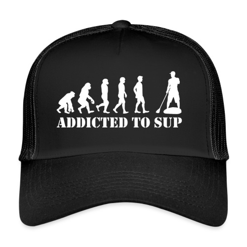Evolution Addicted to SUP White - Trucker Cap