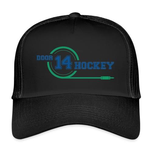D14 HOCKEY LOGO - Trucker Cap