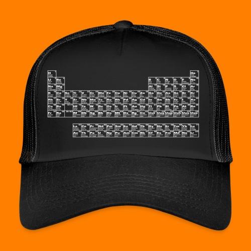 periodic white - Trucker Cap