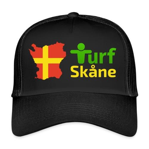 Turf Skåne Logo gul - Trucker Cap