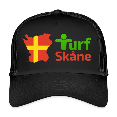 Turf Skåne Logo röd - Trucker Cap