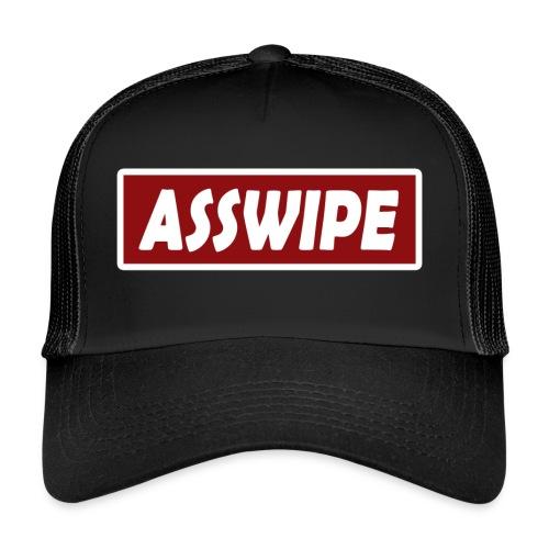 Funny asswipe hat - Trucker Cap