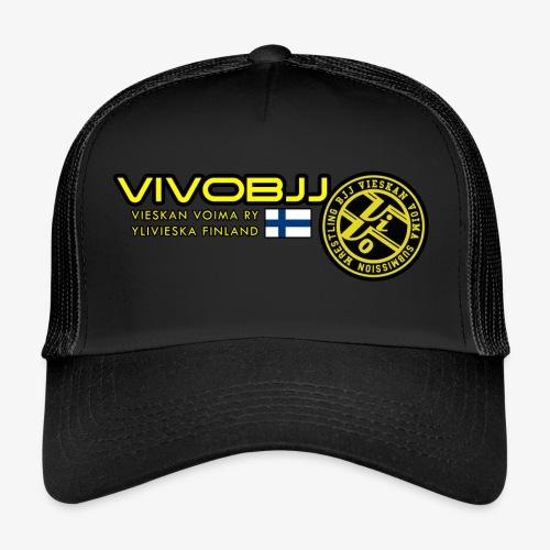 ViVoBJJ Patch White - Trucker Cap