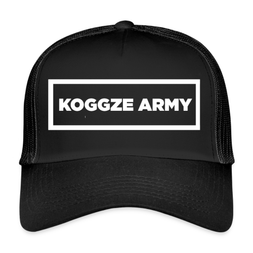 White Koggze Army Design - Trucker Cap
