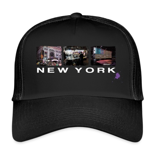 new york color ohne kontu - Trucker Cap