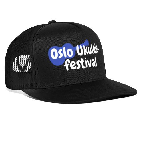 Festival logo hvit - Trucker Cap