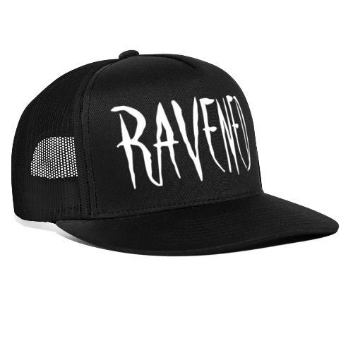 Ravened - White logo - Trucker Cap