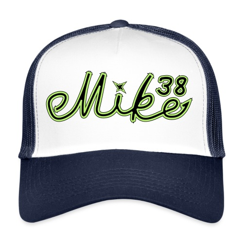 mike38teksti - Trucker Cap