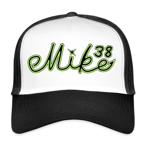 mike38teksti - Trucker Cap