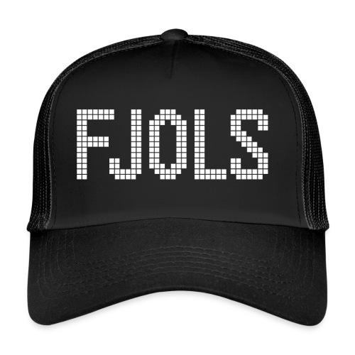 FJOLS med hvid tekst - Trucker Cap