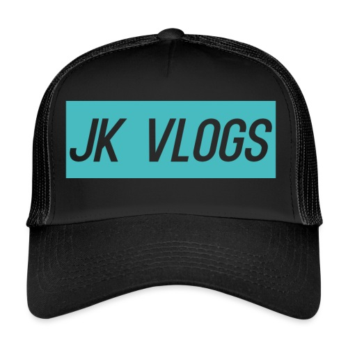 JK Vlogs Logo 2 - Trucker Cap