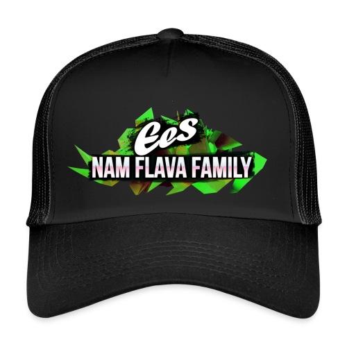 NAM FLAVA Logo green - Trucker Cap