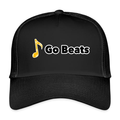 Logo with text - Trucker Cap
