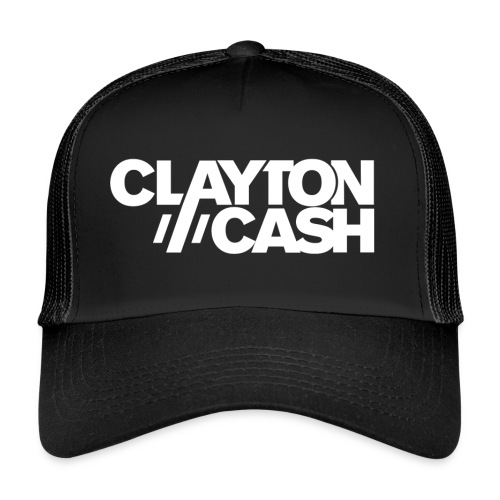 Clayton Cash Black/White - Trucker Cap