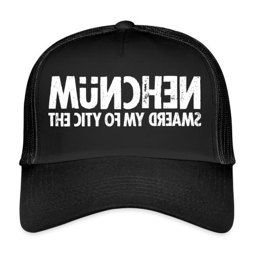 München (white oldstyle) - Trucker Cap