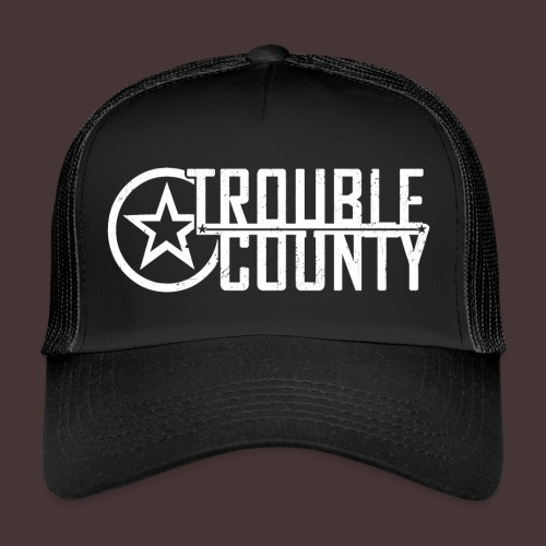 Trouble County Logo - Trucker Cap