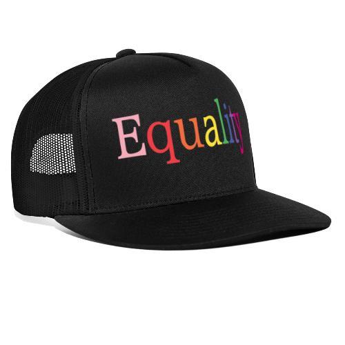 Equality | Regenbogen | LGBT | Proud - Trucker Cap