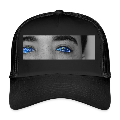 Black and white (UGLY TRUTH) - Trucker Cap