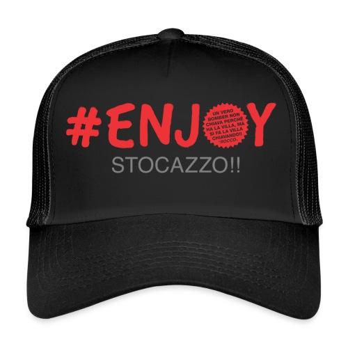 EnjoyStoCazzo 3 - Trucker Cap