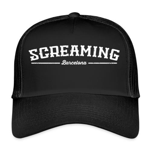 SCREAMING - Gorra de camionero