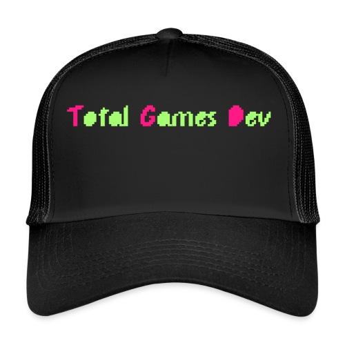 TotalGamesDev Text Logo - Trucker Cap