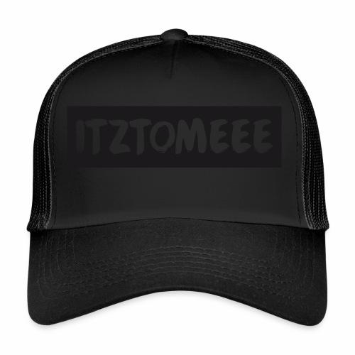 ItzTomeee Logo Black - Trucker Cap
