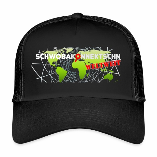 Schwobakonnektschn Logo (transparent) - Trucker Cap