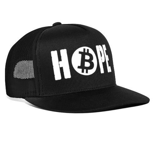 Black HOPE BTC - Trucker Cap