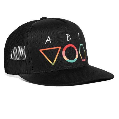 Abc t shirt - Trucker Cap