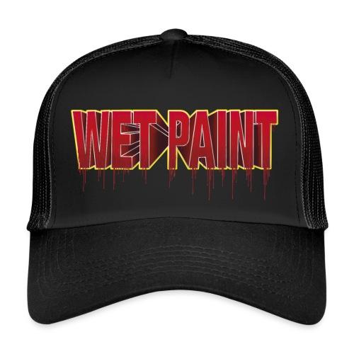Wet Red Paint - Trucker Cap