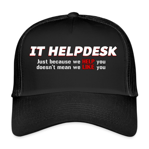 I.T. HelpDesk - Trucker Cap