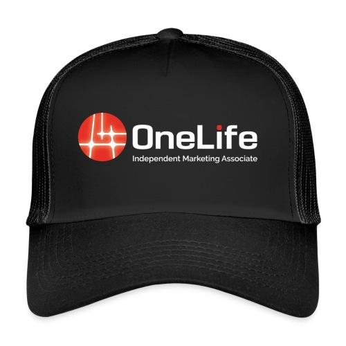 onelife ima logo dark bac - Trucker Cap