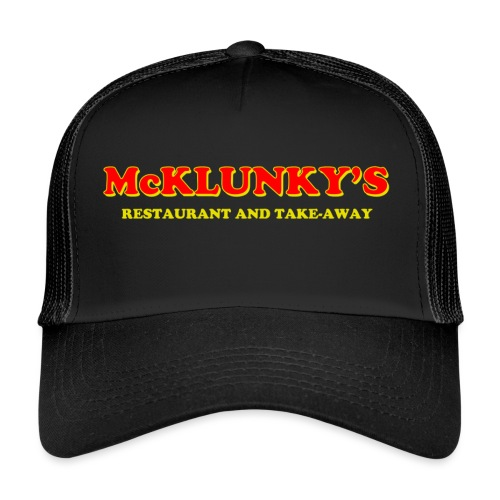 McKlunky's logo - Trucker Cap