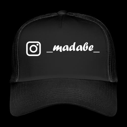 madabe instagram weiss - Trucker Cap