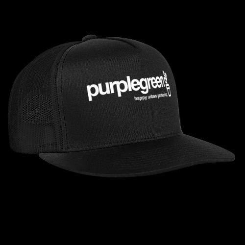 purplegreen classic - Trucker Cap