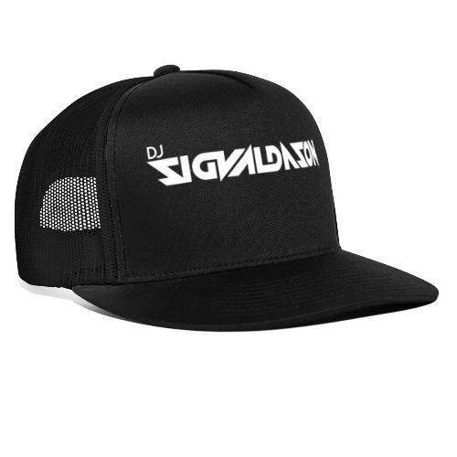 DJ logo hvid - Trucker Cap