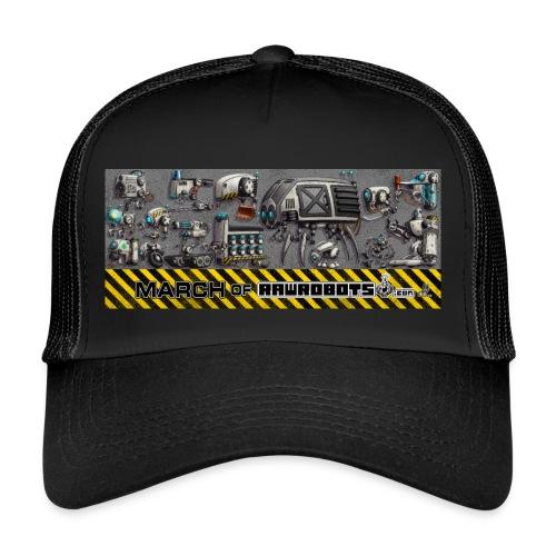 #MarchOfRobots ! LineUp Nr 1 - Trucker Cap