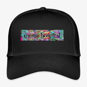 meme hospital logo - Trucker Cap