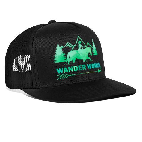 Sprücheshirt - Wander Woman - Trucker Cap
