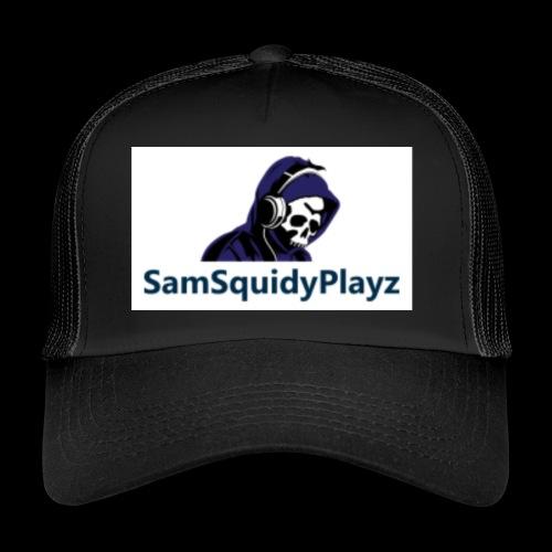SamSquidyplayz skeleton - Trucker Cap