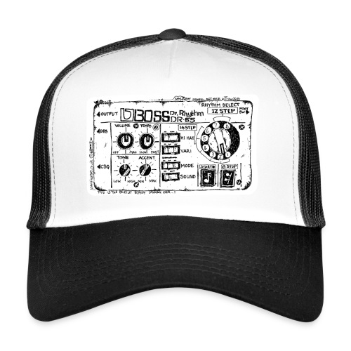 Drum Machine's R Ace! - Trucker Cap